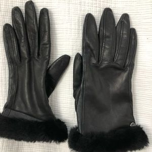UGG Fashion Shearling Shorty Gloves